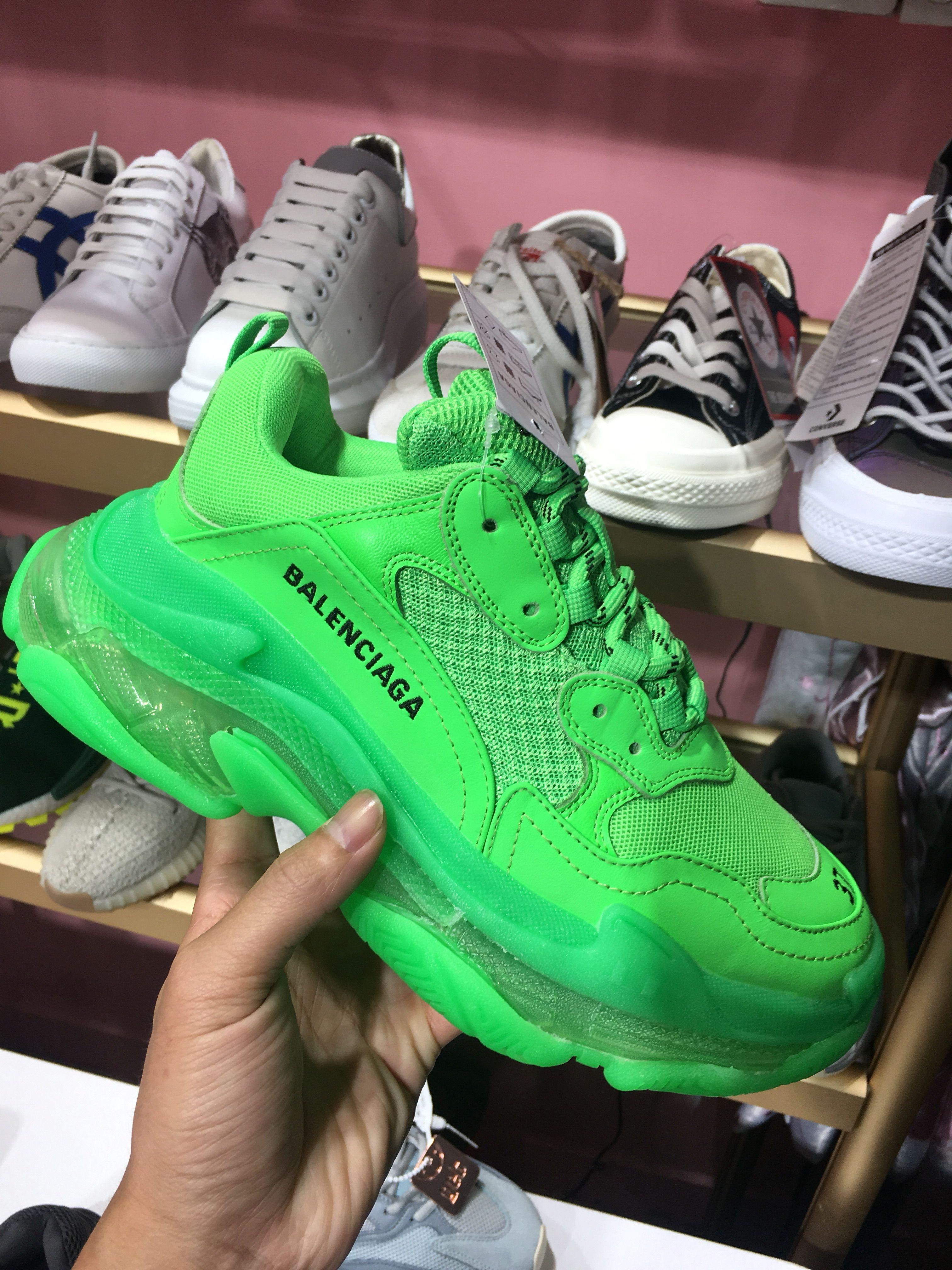 Nice new green balenciaga sneaker
