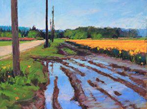 Spring Showers by Susan Ogilvie Pastel ~ 12 x 16