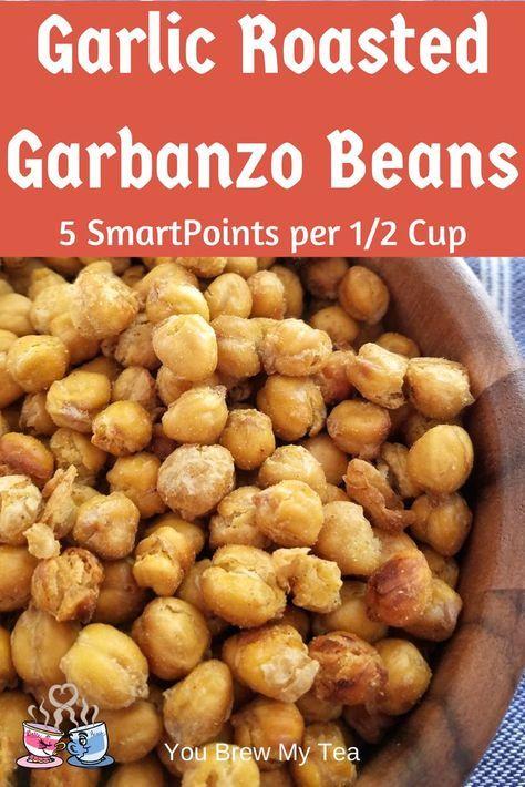 Garlic Roasted Garbanzo Beans