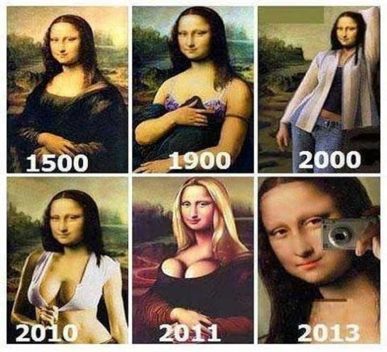 Se Mona Lisa estivesse viva, estaria assim: