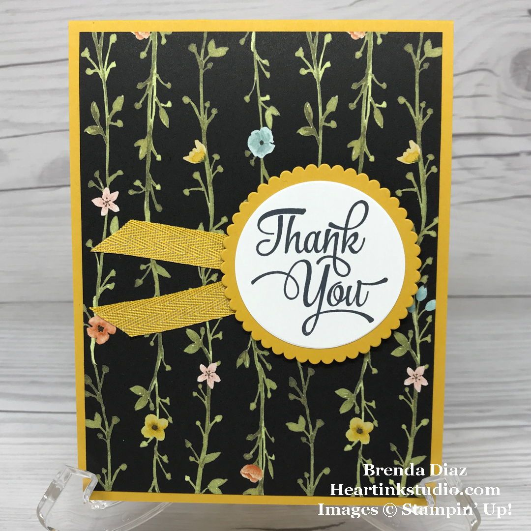 One Big Meaning Lovely Thank You Cards (Part 4)! #stampinup #onebigmeaning
