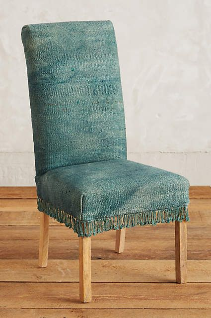 Fringed Dhurrie Chair Chair Furniture Home Decor