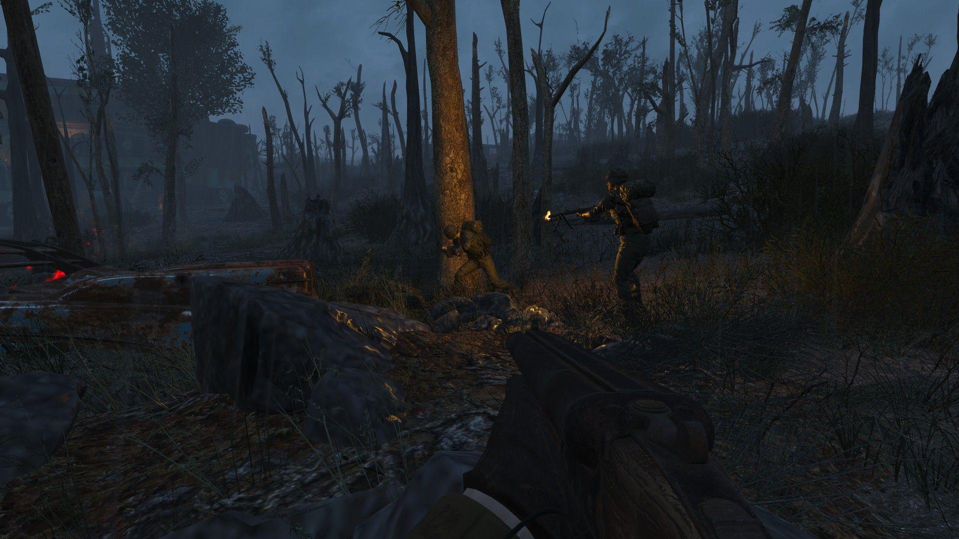 Wasteland Grunts Gunners reimagined Fallout 4 Mod