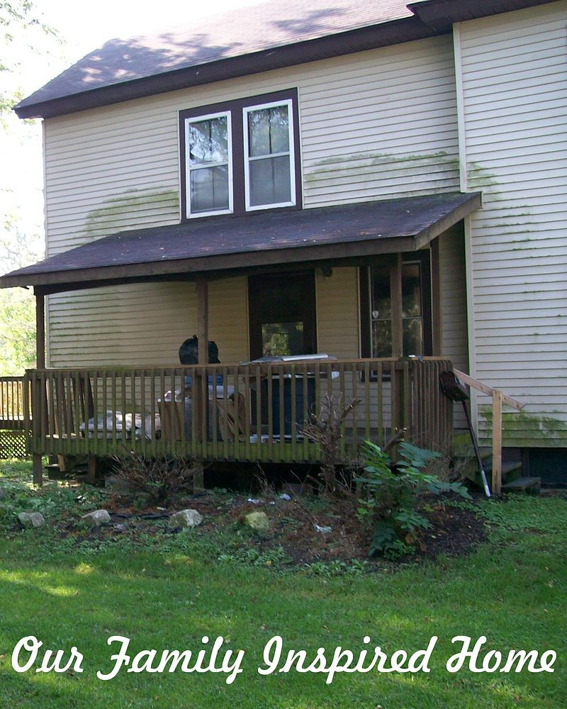 Side Porch Outside Reveal And Rock Garden! #sideporch