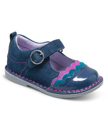 f12bdf280 This Navy   Berry Medallion Collection Evelyn Leather Mary Jane by Stride  Rite is perfect!  zulilyfinds