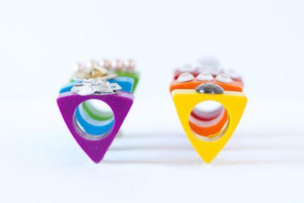 Cute idea for our Juniors Jeweler badge.