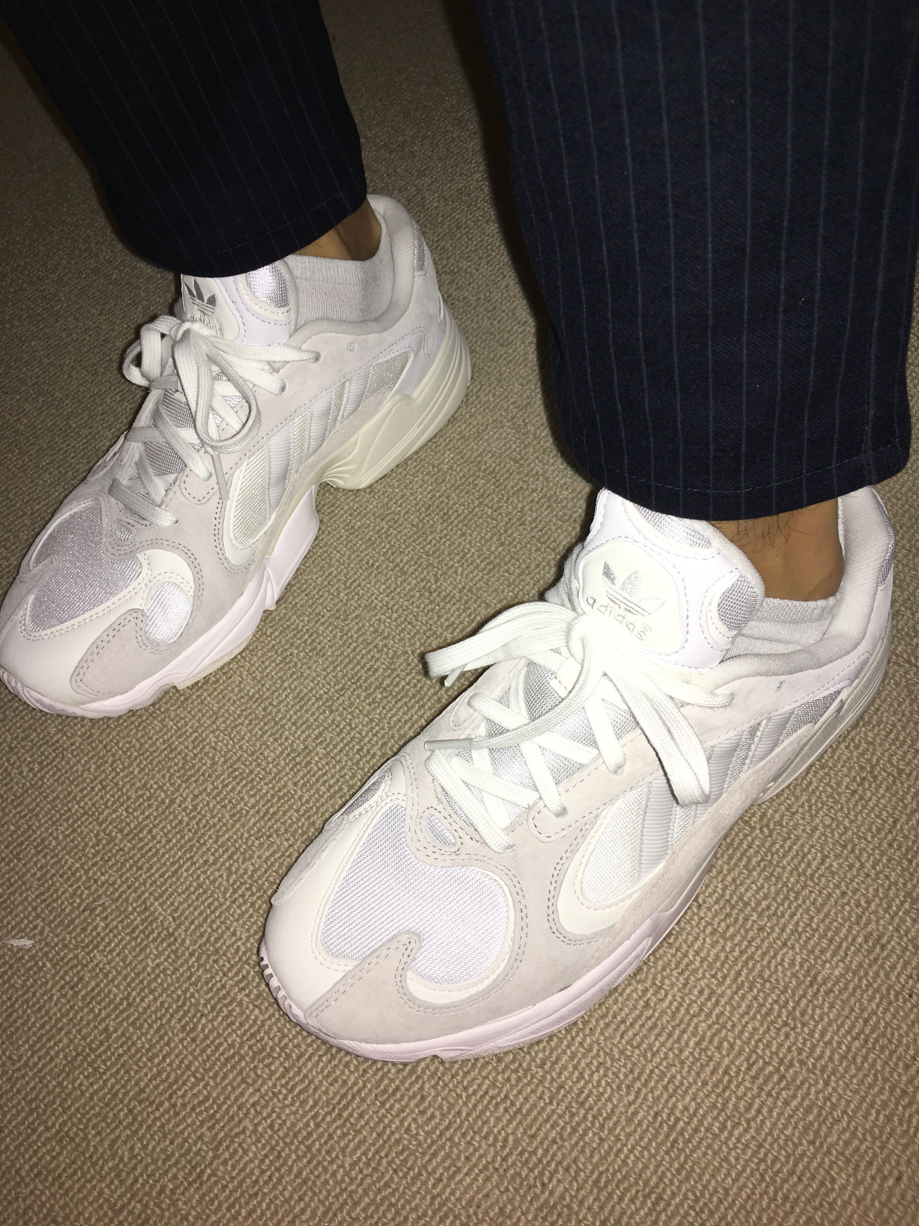 6c23ae5791c0  adidas  yung1  sneakers  mrporter. Find this Pin and more on Kicks by  Sunnyboi.