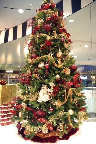 Amazon Com 9 Christmas Tree Decorating Kits Victorian Style Christmas Ball O Christmas Tree Decorations Victorian Christmas Tree Ribbon On Christmas Tree