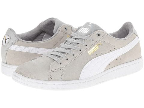 ae4a53b80d5aa1 PUMA Vikky Grey Violet White - Zappos.com Free Shipping BOTH Ways ...