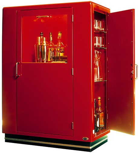 20 Eye Catching Under Stairs Wine Storage Ideas: Müller Wine Bar Cabinet