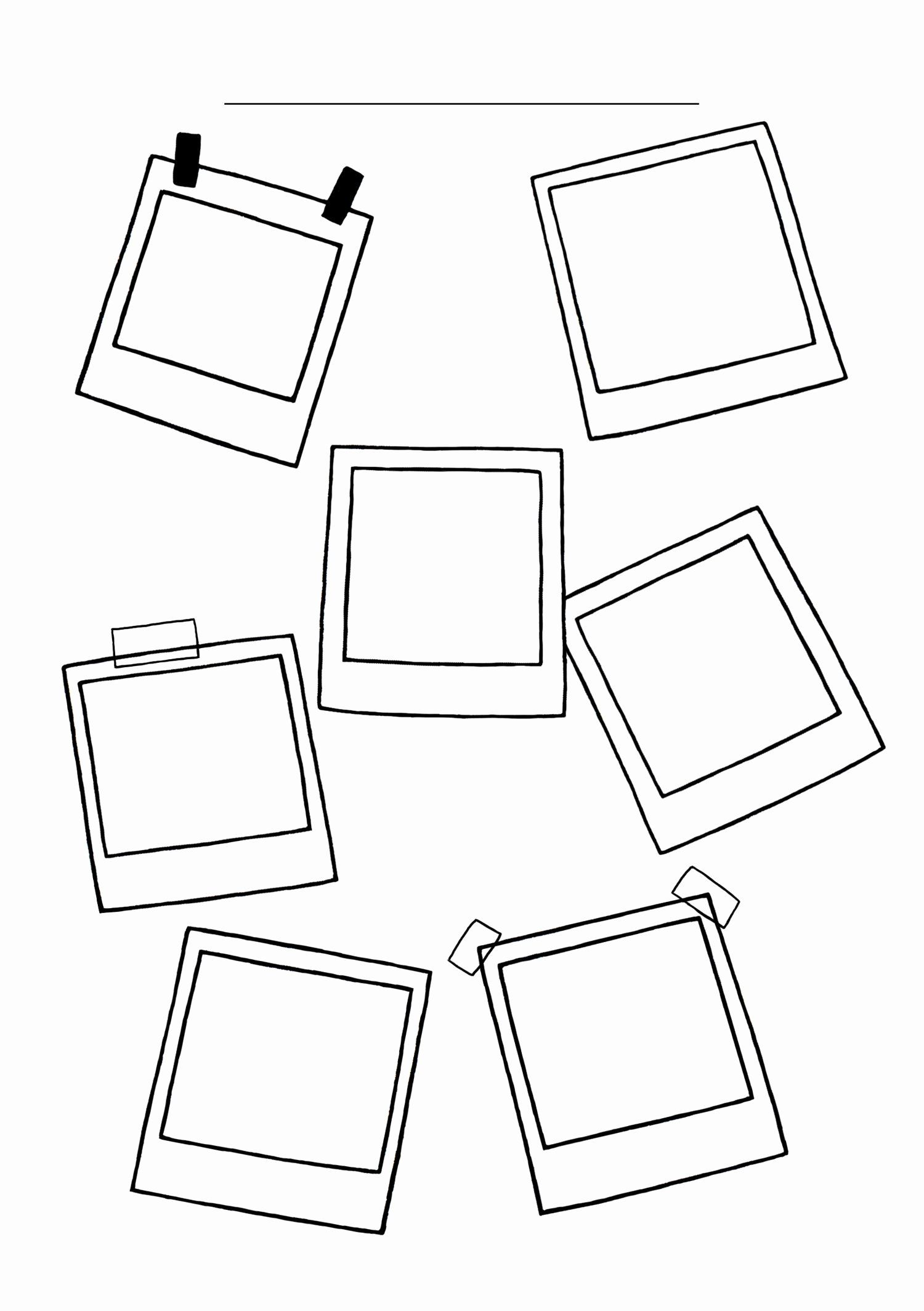 Picture Frame Coloring Sheet Lovely Coloring Pages Polaroid Frame Doodles Bullet Journal Ideas In 2020 Bullet Journal Doodles Bullet Journal Ideas Pages Polaroid Frame