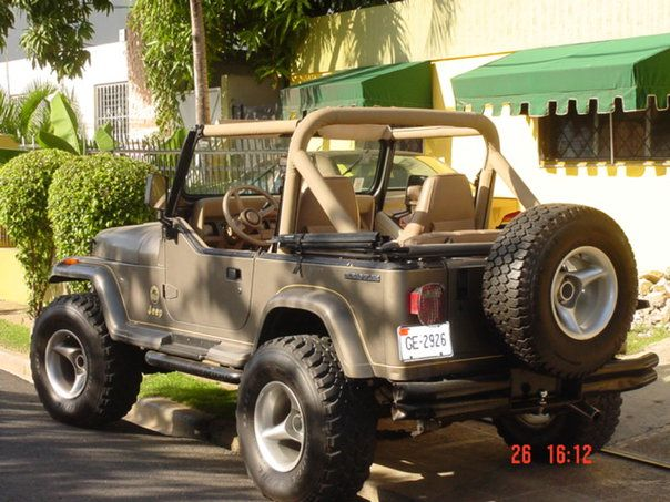 1990 Jeep Wrangler Sahara Dream Car All Day Everyday Jeep