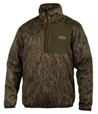 3e1b5be86 Drake Non-Typical Endurance 1 4 Zip Jacket with Agion Active XL for Men -  Mossy Oak Bottomland - 2XL