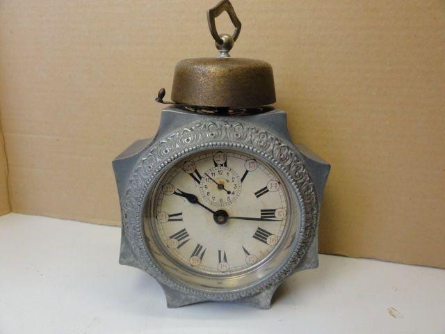 d268c7c7d2919 Catawiki online auction house  Despertador de forma octogonal - Grennet -  período de 1900