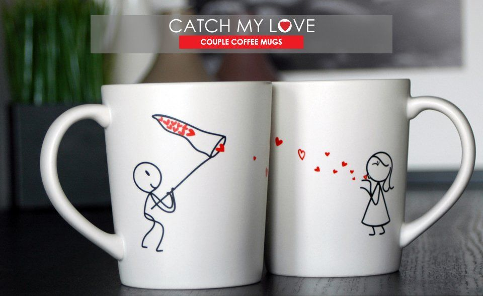 Boldloft catch my love his and hers coffee
