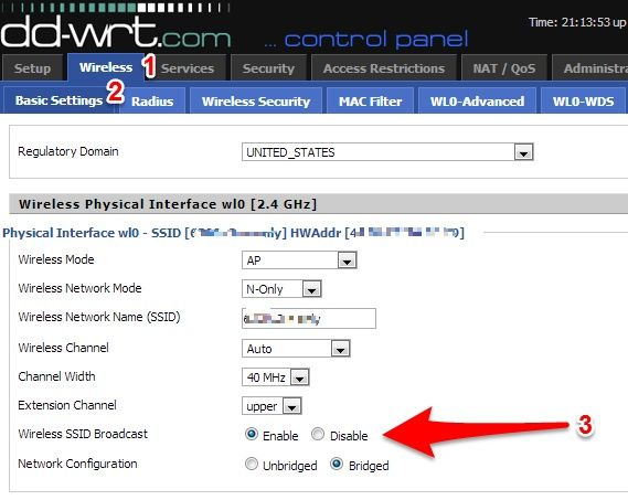 How To Turn Off WiFi on a DD-WRT With the Press of a Button