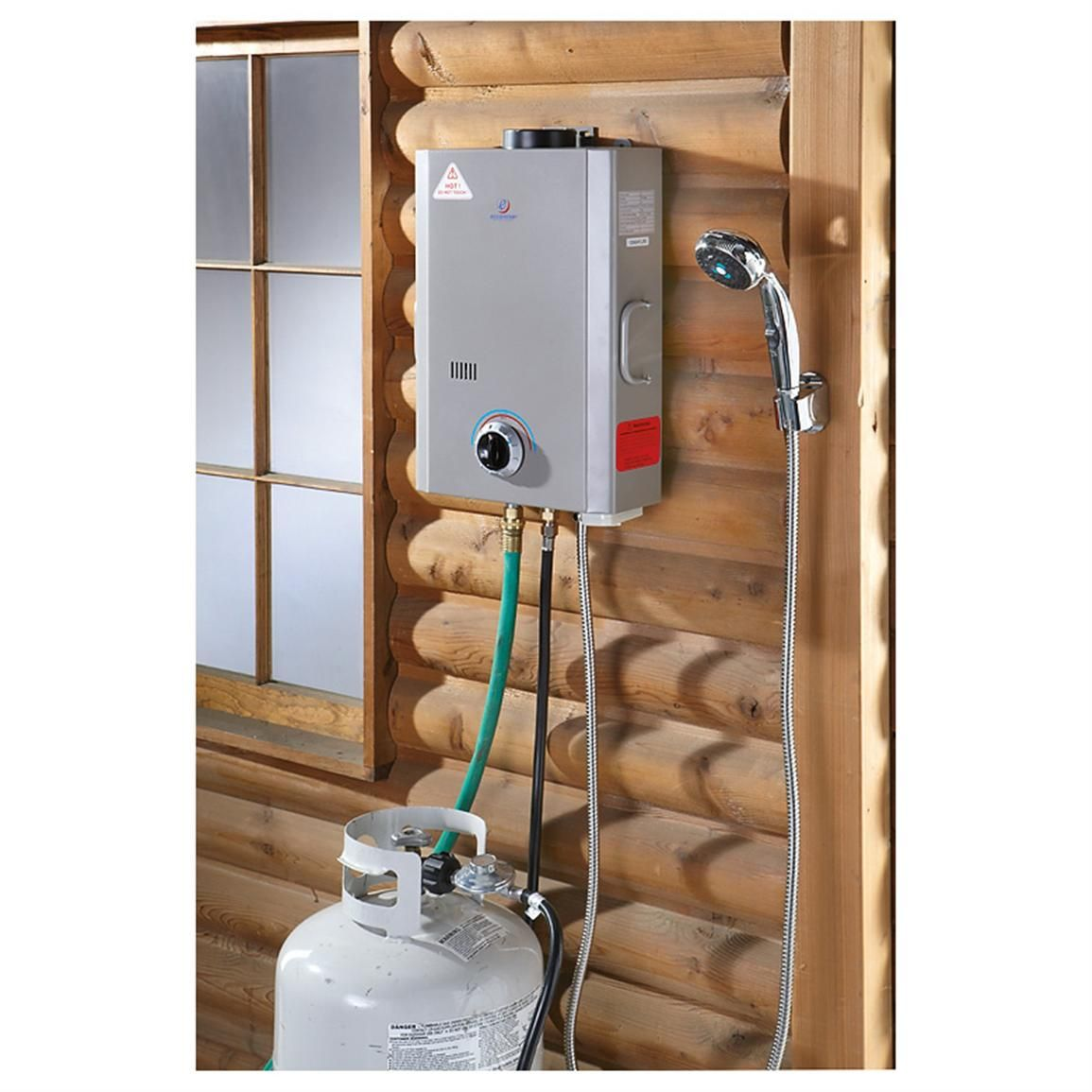 Portable Water Heater Shower