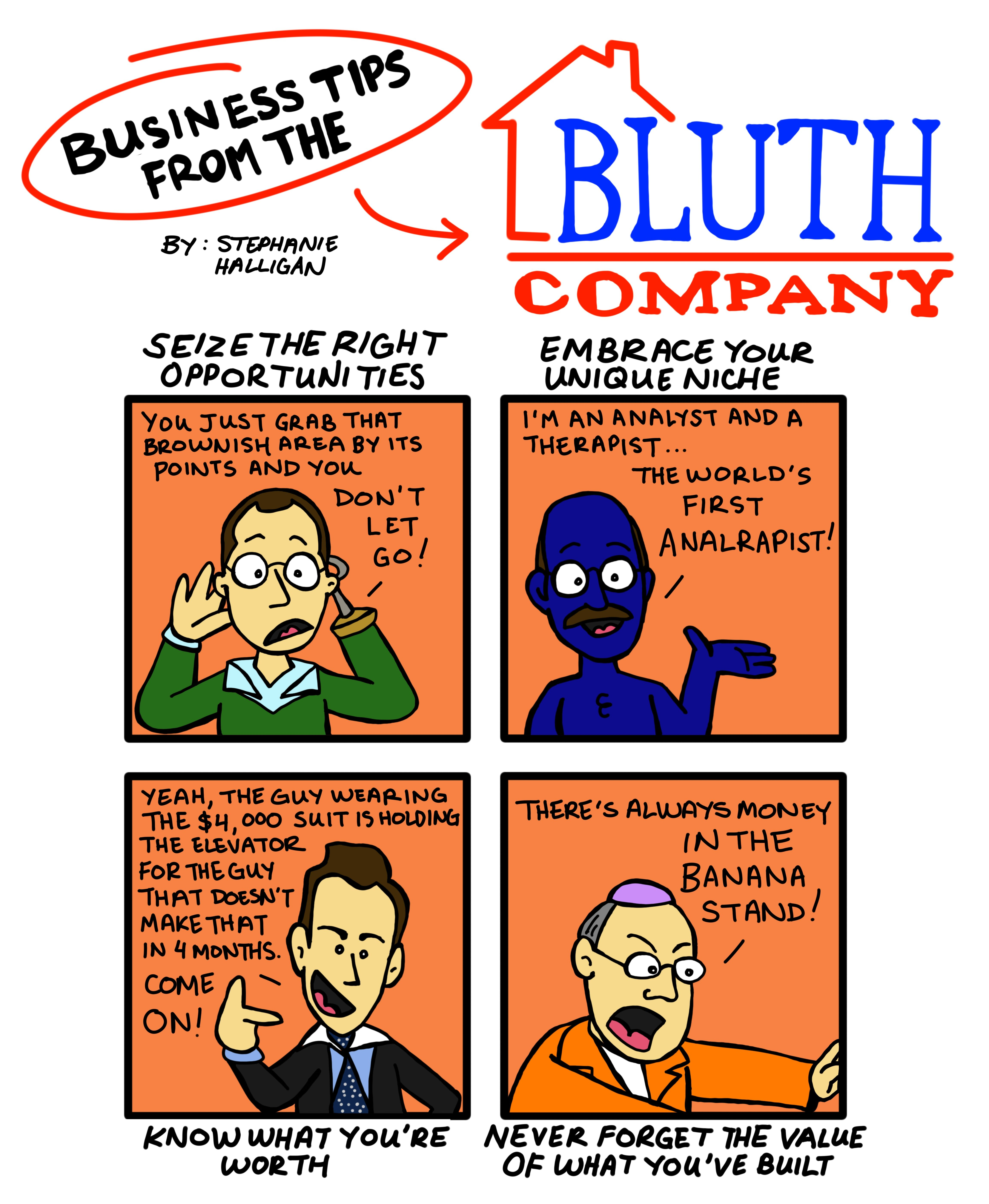 Arrested Development Business tips from the Bluths