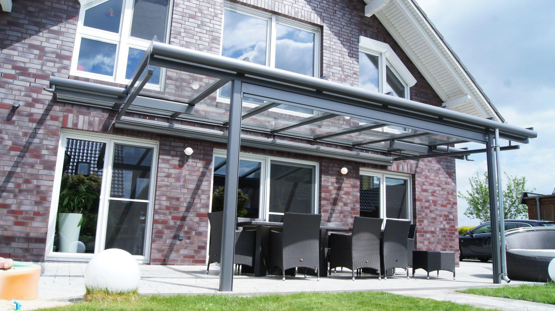 Terrassendächer Buxtehude AMS Metallbau Terrassen dach