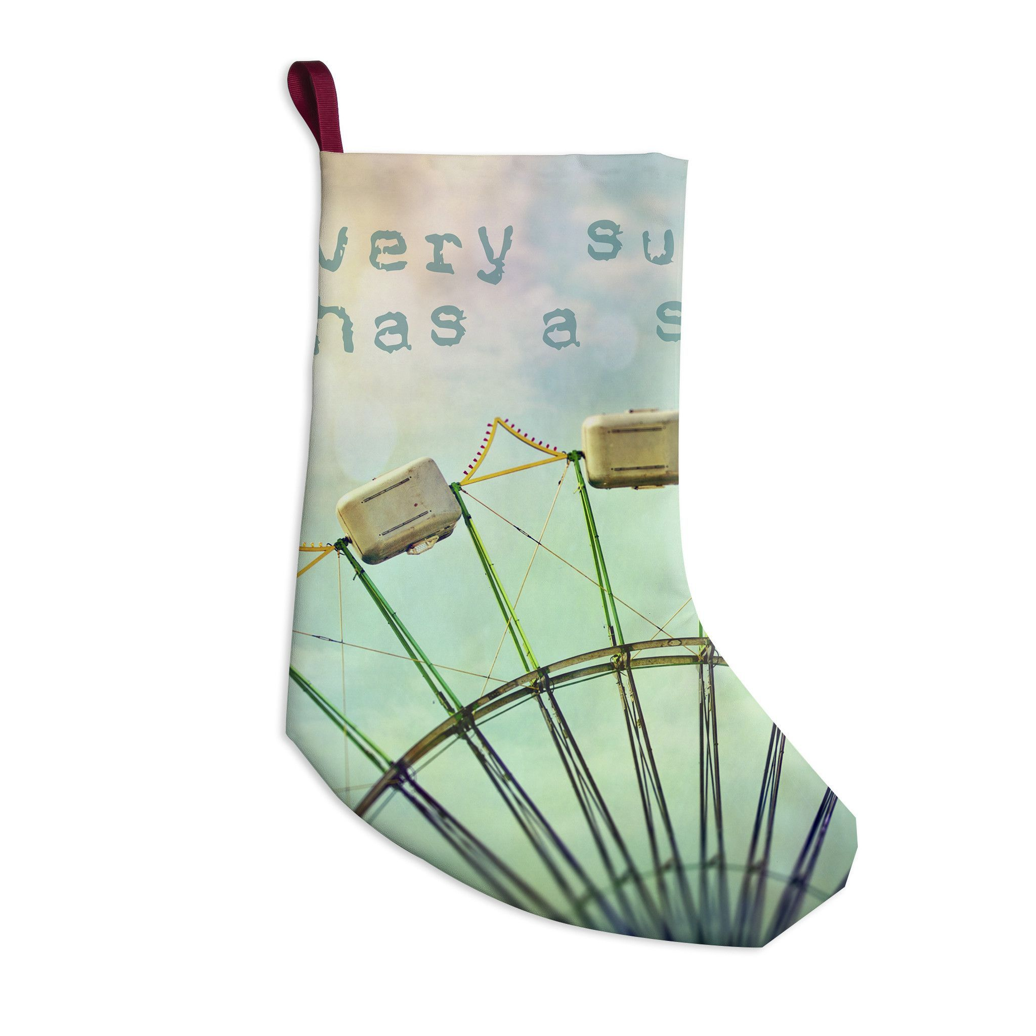 """Sylvia Cook """"Every Summer Has a Story"""" Christmas Stocking"""