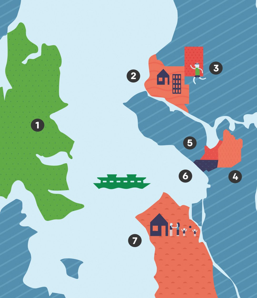 Where to live now in Seattle A look at 7 of the city's