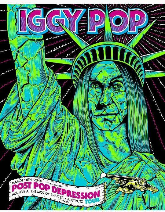 Iggy Pop Post Pop Depression Tour