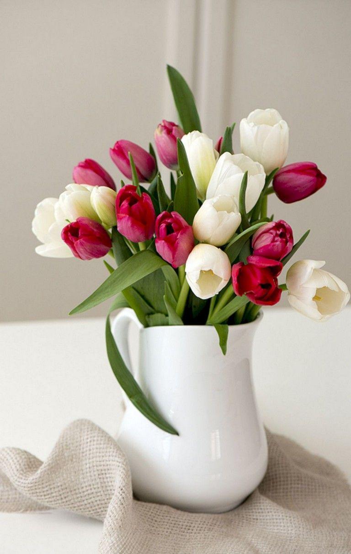 45 wonderful and easy diy tulip arrangement ideas