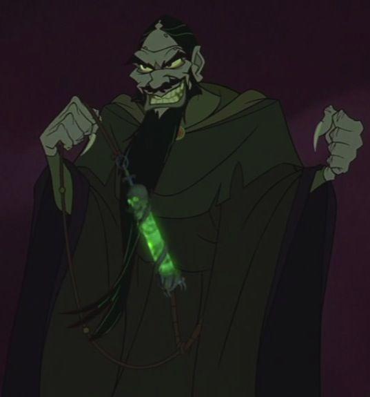 Christopher Lloyd As The Voice Of Rasputin In Anastasia