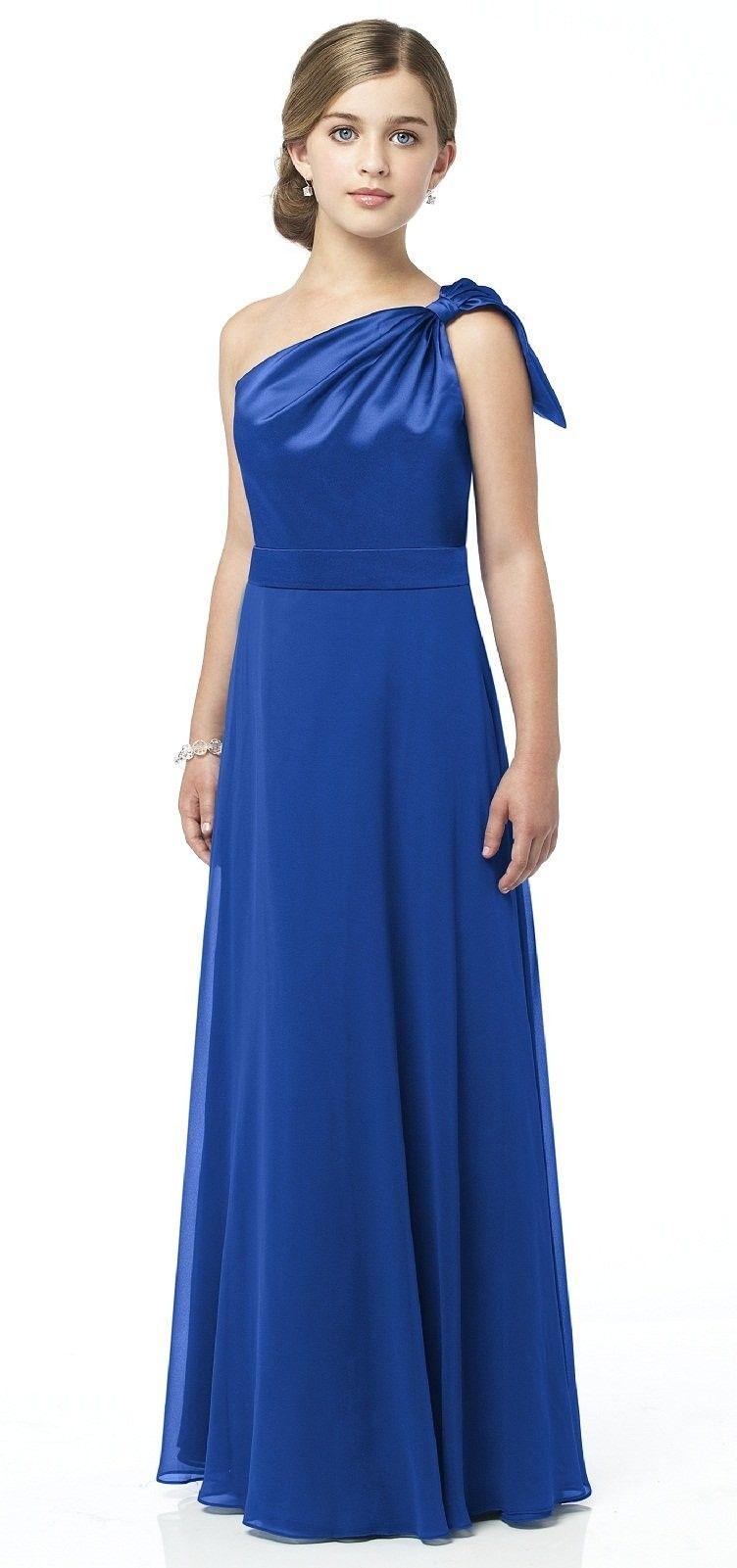 Dessy bridesmaid dress sapphire dream wedding pinterest