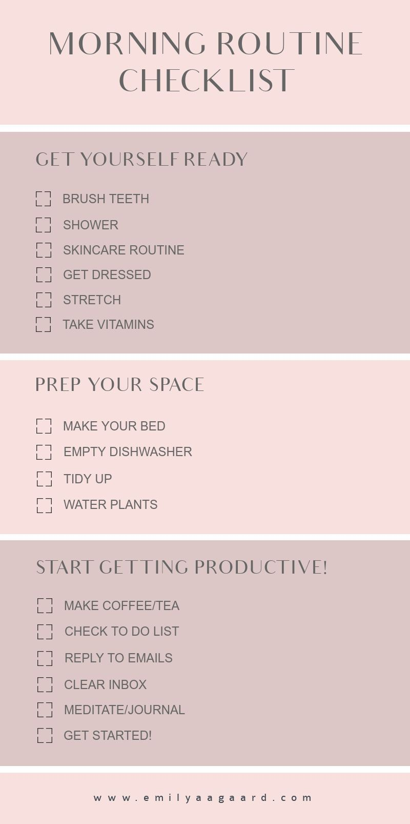 Produktive Morgenroutine - New Ideas #workathome