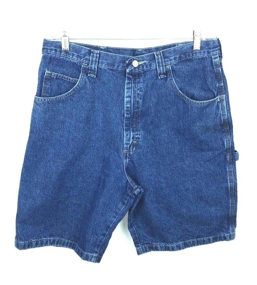 7fdf398f Wrangler Men's Size 36 Shorts Lot of 2 Carpenter Denim Blue Jean 65WC2ZD  Cotton #Wrangler #Denim