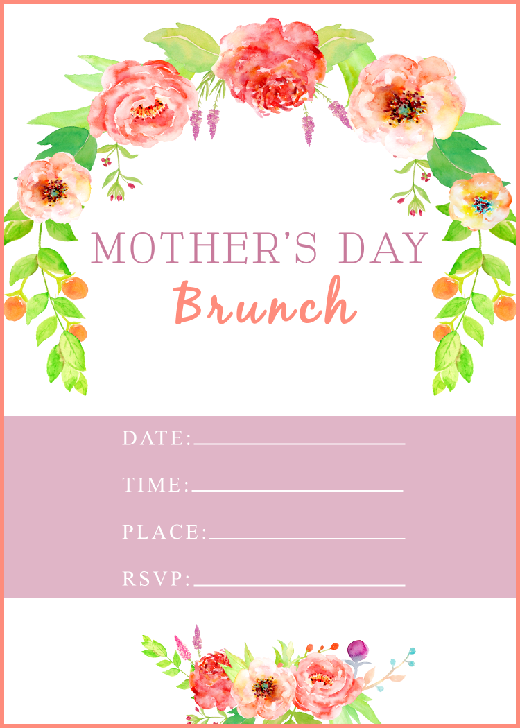 Mother S Day Brunch With Free Printable A Cup Full Of Sass Mother S Day Diy Mothers Day Brunch Brunch Invitations