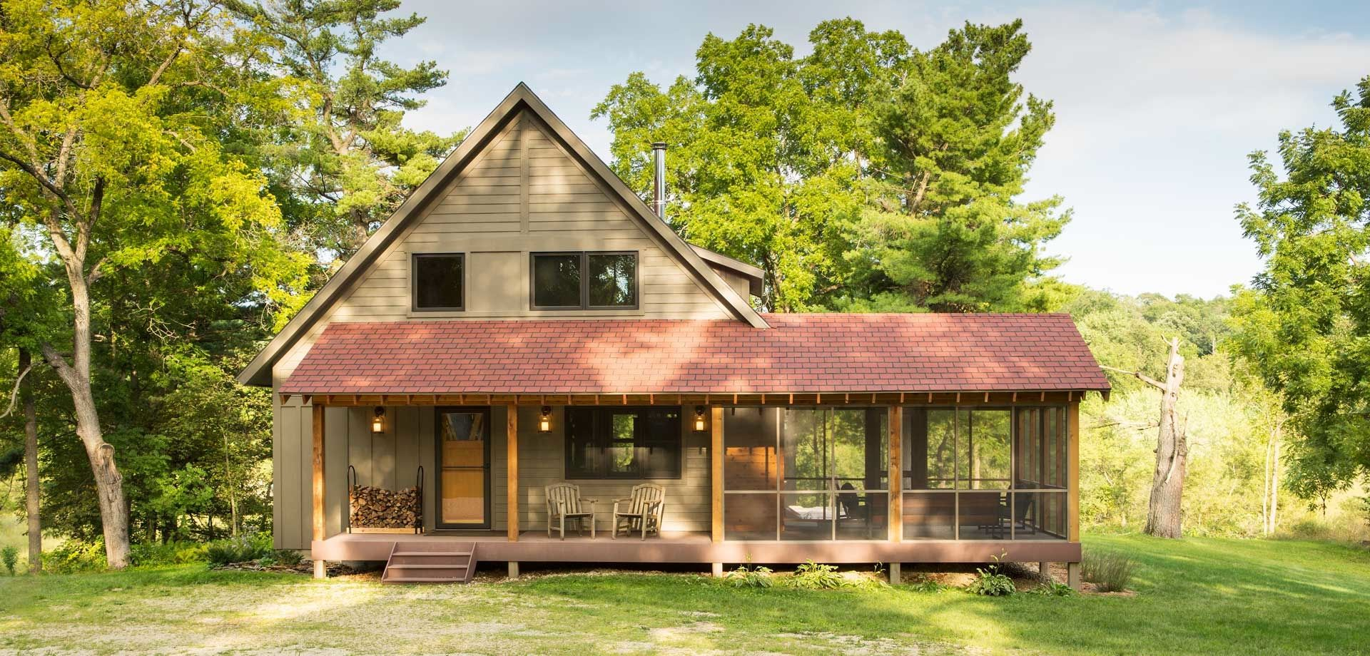 trout fishing cabin sala architects cabin pinterest cabin this is a small cabin in minnesota called the trout fishing cabin by dale mulfinger of sala architects at 1600 sq this cabin is far from tiny