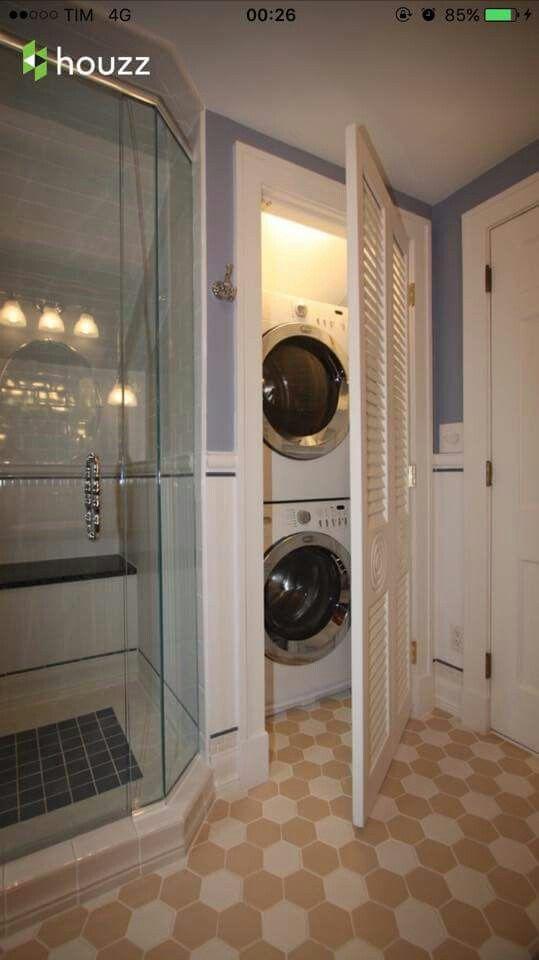 Idea Lavatrice Arredamento Bagno Progettazione Bagno