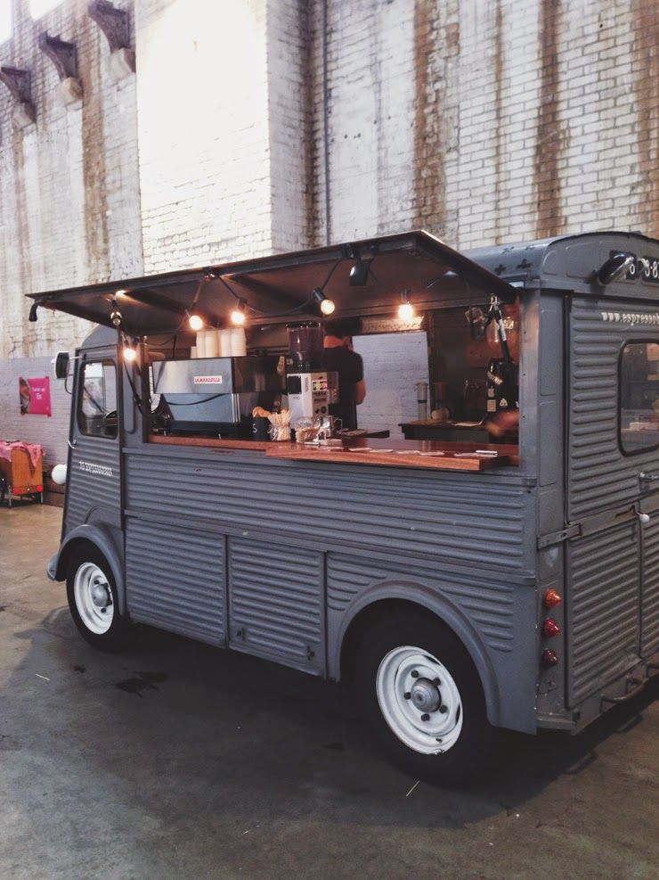 Amsterdam Coffee Truck PT Van Idea