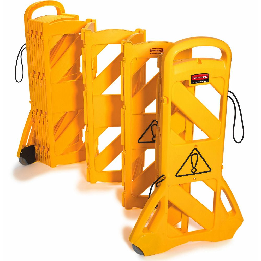 Rubbermaid Mobile Safety Barrier Floor Signs Stands Pinterest