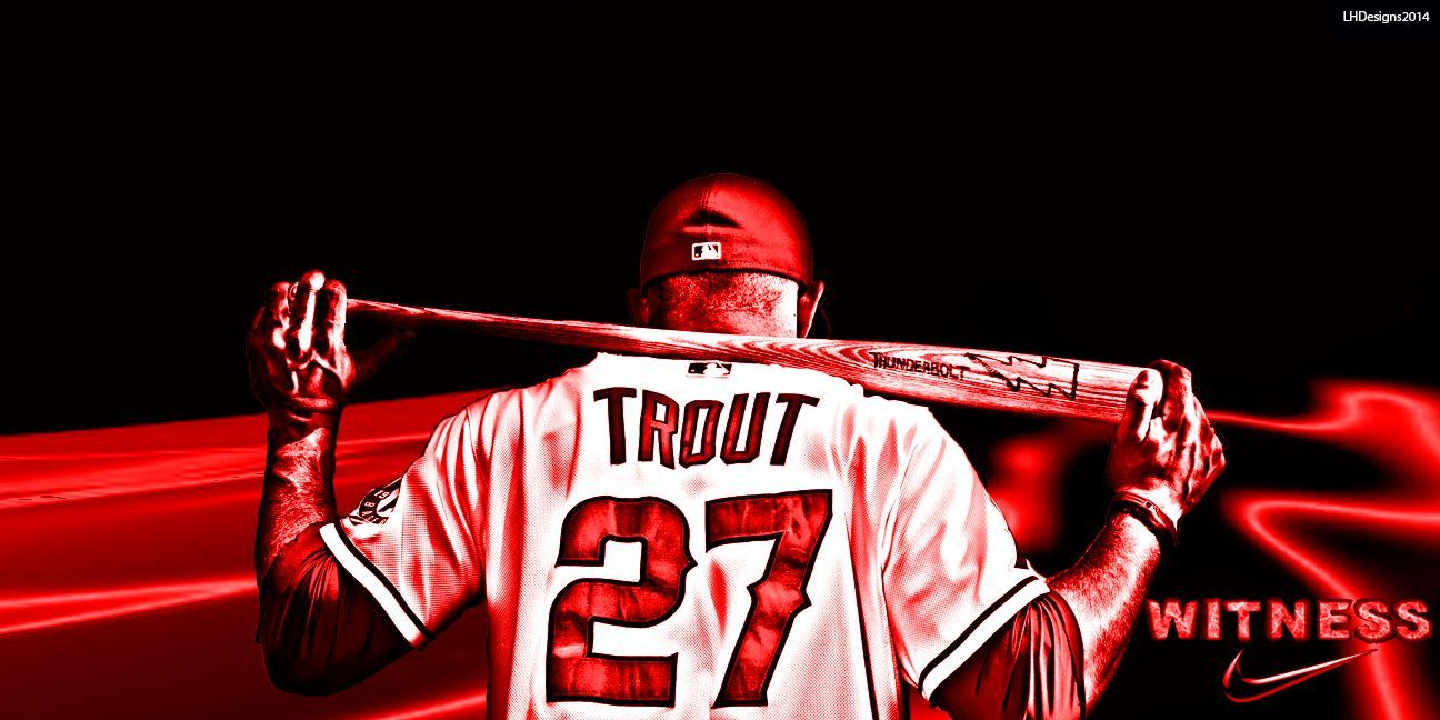 Image Result For Mike Trout Wallpaper Mike Trout
