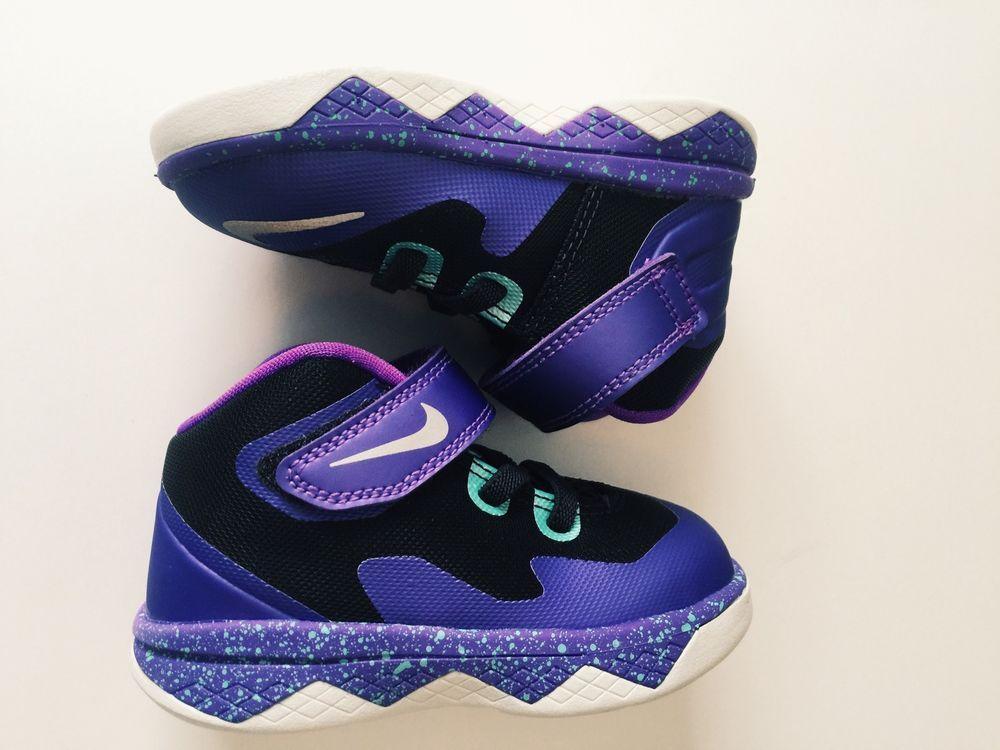 Boys  Toddler Nike Zoom LeBron Soldier 8 Basketball Shoes Size 6 (FREE SHIP) 24e76cf144f8
