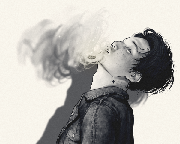 "pandcar103: "" EXO SMOKING Collaboration : Men - Kai smokingexo.wix.com/smoking """