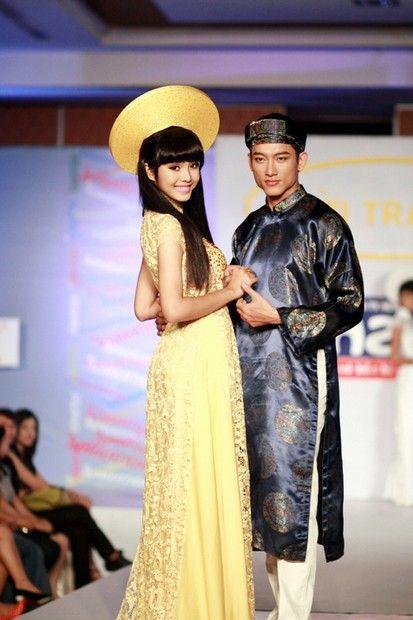 Áo dài nam - N195 Vietnamese style because Gangnam style is so mainstream :D