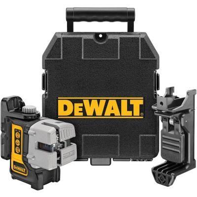Dewalt 50 Ft 165 Ft Red Self Leveling 3 Beam Cross Line Laser Level With 4 Aa Batteries Case Dw089k With Images Dewalt Laser Levels Installing Cabinets