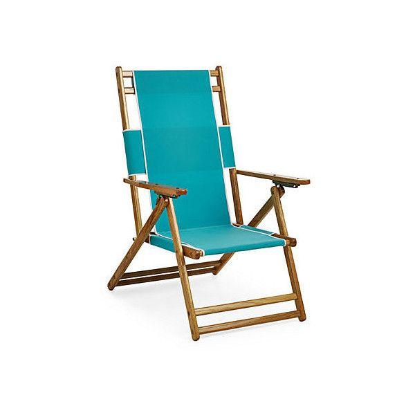 Florida Beach Chair Aruba Outdoor Deck Chairs ($149) ❤ liked on - sillas de playa