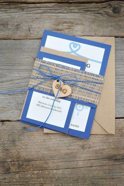 Individuelle Hochzeitseinladung, Rustikale Hochzeitseinladung, Strand  Hochzeit Einladung Kits, Sackleinen Hochzeitseinladung, Set 20