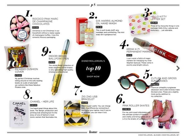 Christmas Gift Guide Magazine.The Conran Shop Gift Guide With A Little Help From Me