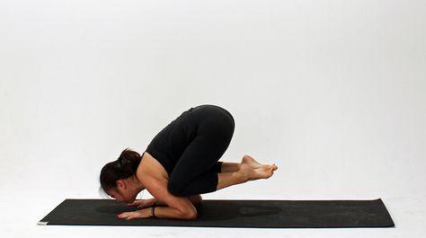 how to do baby crow pose  crow pose strength yoga yoga