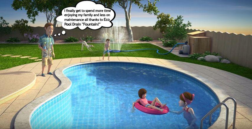 "Pin by Eco Pool Drain on Eco Pool Drain "" Fountain"" Pool"