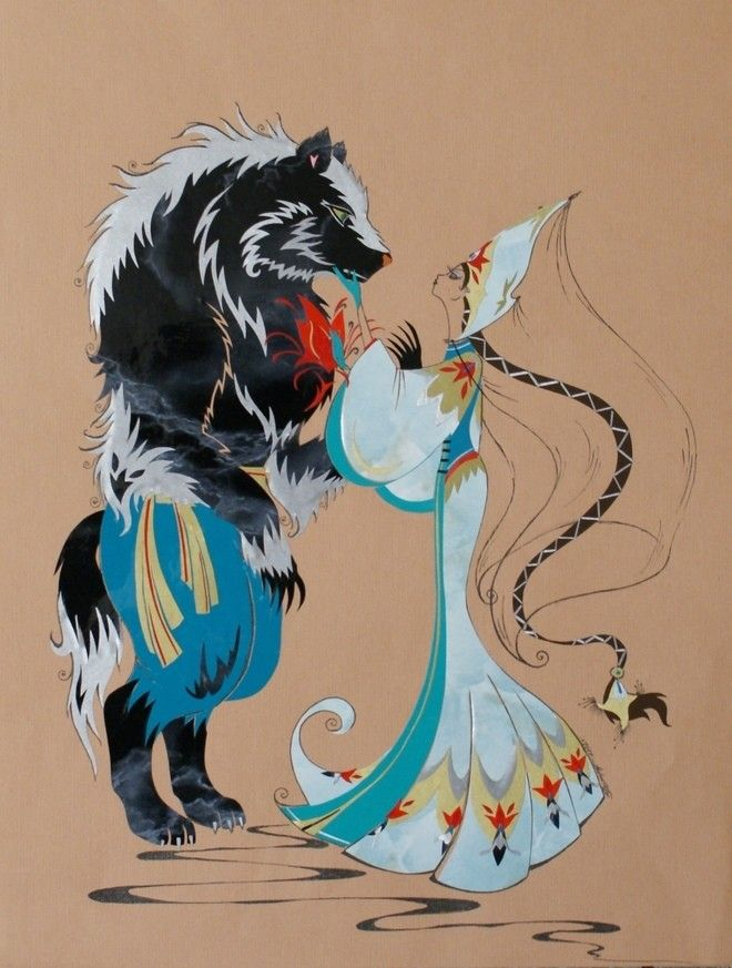Nastya And The Beast Illustration Of The Fairy Tale The Scarlet Flower Fairytale Illustration Fairy Tales Beast