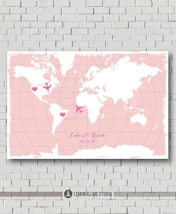 Custom love map for more information please visit my etsys world map guest book state guest book wedding poster guest book print wedding print travel wedding map destination wedding gift gumiabroncs Choice Image