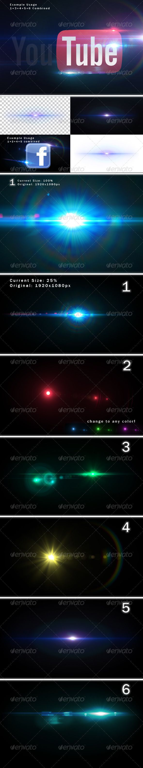 6 Unique Lens Flares - Light Effects -3-  #GraphicRiver         6 Unique Lens Flares – Light Effects (Part 3) Give your Logos, Photos etc a touch of professionality with these lens flares.   Combine the flares! 100% Transparent! Premade Flares! Change into any color you like! Very Simple! Resize, rotate, color, combine and fit your likes!   Files included:  lensflares.psd  readme.txt  premade(folder):  1.png  2.png  3.png  4.png  5.png  6.png    Also Check out:            Created…