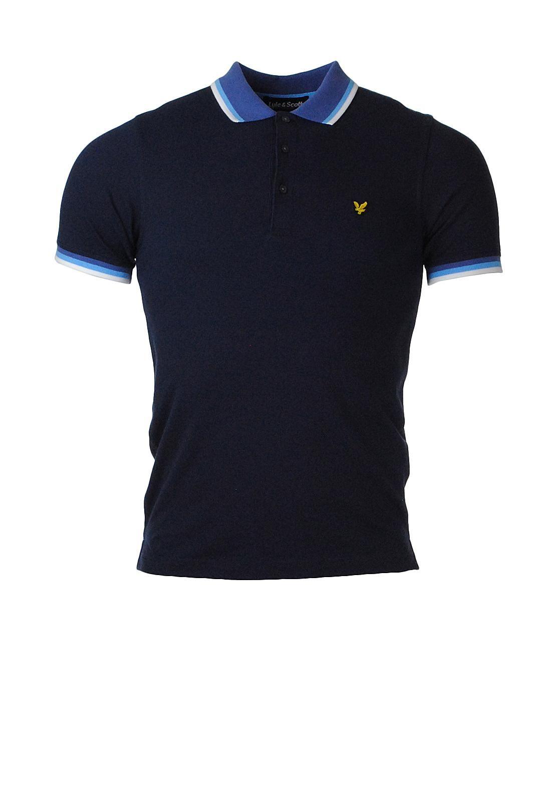 Lyle   Scott Contrast Polo Shirt 572ddd9046af2
